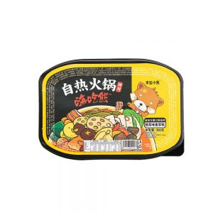 Lucky Bear Self Heating Hotpot Suan Cai – Sour Vegetable Flavour 300g