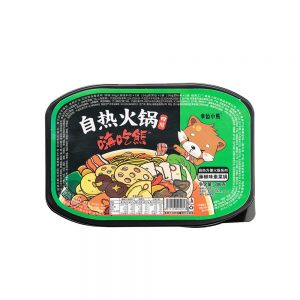 Lucky Bear Self Heating Hotpot – Mala, Teng Jiao & Suan Cai (Box 12x300g)