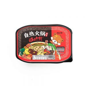 Lucky Bear Self Heating Hotpot – Mala, Teng Jiao & Suan Cai (Box 6x300g)