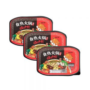 Lucky Bear Self Heating Hotpot – Mala Flavour (Box 3x300g)