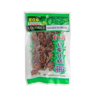 EGO Taiwan Liquorice Seedless Plum 60g