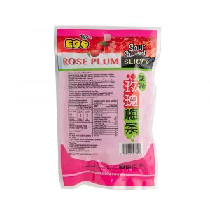 EGO Sour Sweet Rose Plum Slices 140g