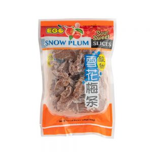 EGO Sweet Sour Snow Plum Slices 140g