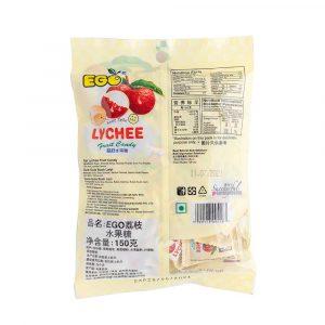 EGO Lychee Fruit Candy 150g