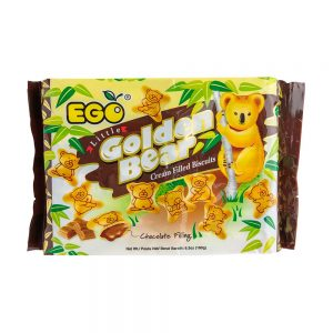 EGO Little Golden Bear Biscuits – Chocolate Cream Filling 180g