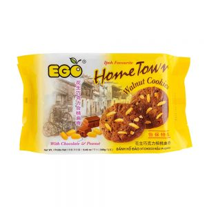EGO Hometown Walnut Cookies – Chocolate & Peanuts 240g