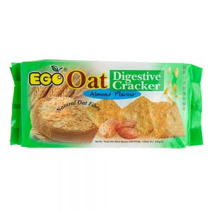 EGO Oat Digestive Crackers – Almond Flavour 240g