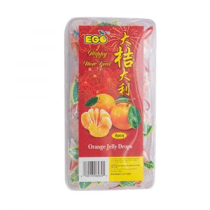 EGO Orange Jelly Drops – Gift Edition 200g