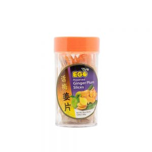 EGO Preserved Ginger Plum Slices (Box 6x160g)