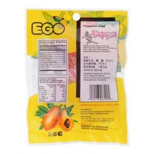EGO Preserved Dried Papaya 80g