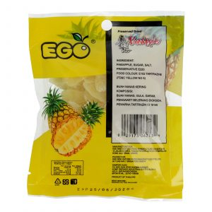 EGO Preserved Dried Pineapple 80g