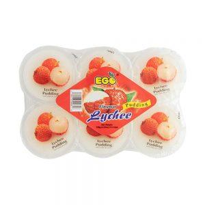 EGO Pudding – Lychee 6's 720g