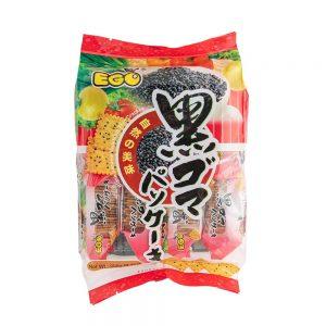 EGO Thin Crackers – Black Sesame Flavour 256g