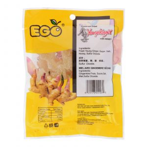 EGO Preserved Young Ginger With Honey 80g