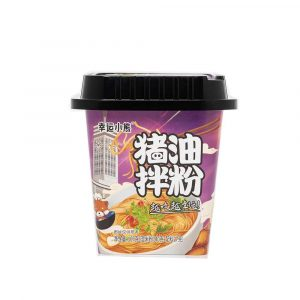 Lucky Bear Rice Noodles – Pork Lard Flavour (Box 12x167g)