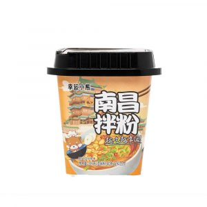 Lucky Bear Rice Noodles – Nanchang Flavour (Box 12x195g)